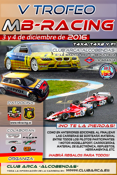 Cartel V TROFEO MB RACING web